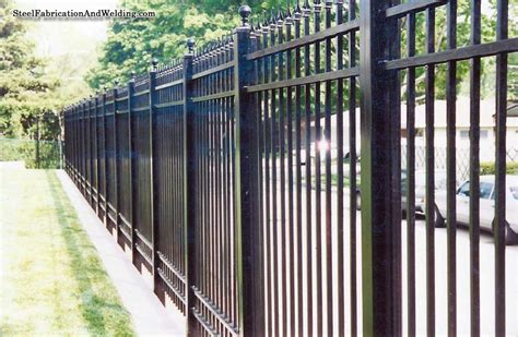 security install fences steel fabrication and welding