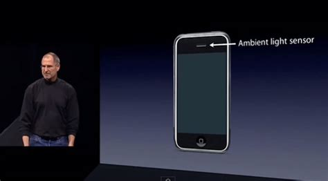 ambient light sensor the new ipod touch lacks auto brightness as apple dropped
