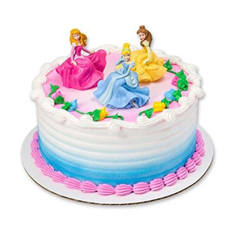 cinderella brand dress disney princess cake topper 3 pieces toys