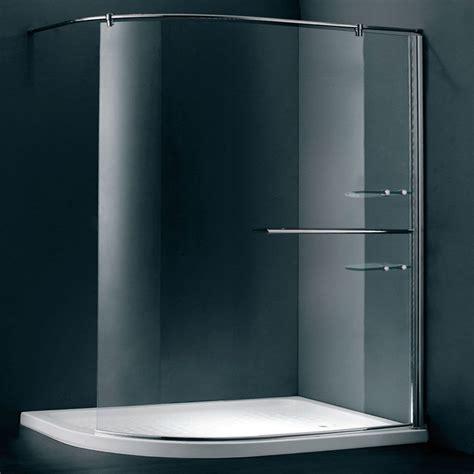 Walk In Bathroom Shower Enclosures by Duchy Style Curved Walk In Room Glass Shower Enclosure