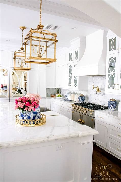 Amazing Kitchen Design With Touches Of Gold by This Is What Kitchen Dreams Are Made Of White