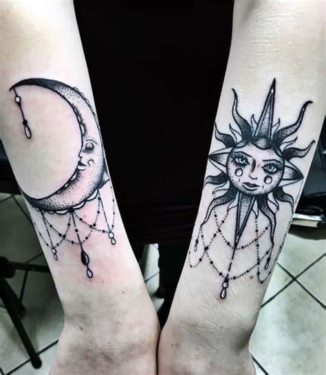 sun  moon tattoo ideas  ink lovers