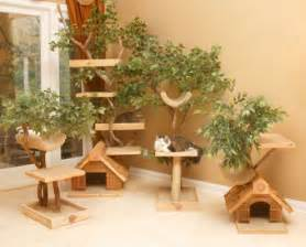 cat tree house unique cat tree houses with real trees from pet tree house
