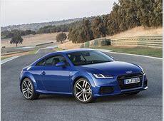New Audi TT & TTS Coupe Photos Show Vegas Yellow and Tango