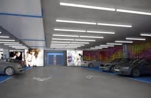 Parking Garage Interior Design