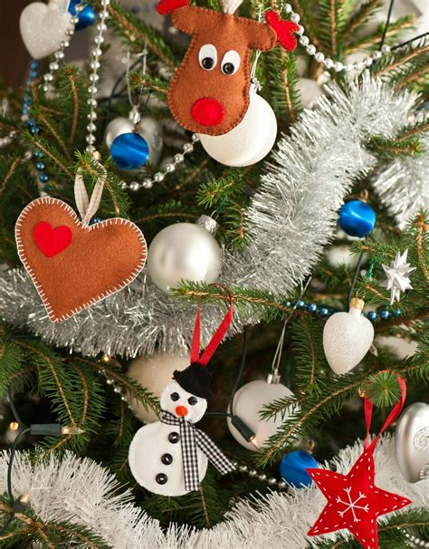 fabric christmas ornaments diy handmade tree ornaments youne