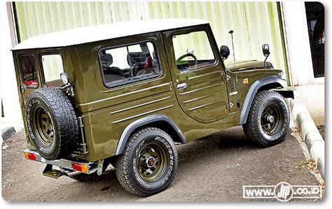 Modifikasi Mobil Taft Badak by Modifikasi Mobil Jip Lawas Daihatsu Taft F50 Quot Kebo Quot Tahun 1980