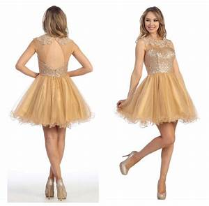 Keyhole Back Sequin Top Homecoming Dress For Teens Short ...