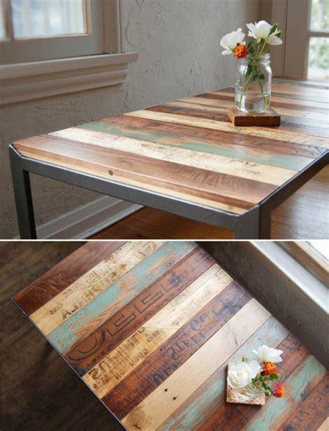 canapé rustique 50 idées pour une table basse avec palette