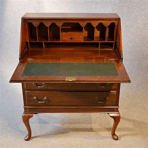 antique writing desk antique bureau writing desk mahogany antiques atlas