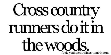 Runner Things #1646 Cross Country Runners Do It In The Woods