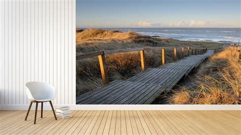 Fototapete Schlafzimmer mit traumhaften Strand, Meer