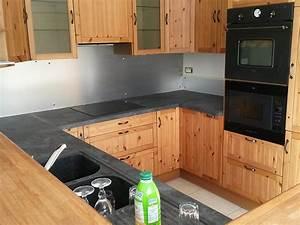 elegance bois artisan createur cuisine salle de bain With plan de cuisine en bois