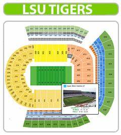 Tiger Stadium Baton Seating Chart Lsu Football Tickets 2020 Cheapest Prices Best Seats