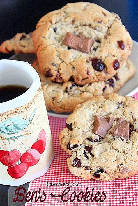recette cuisine en anglais ben 39 s cookies anglais la recette recettes faciles recettes rapides de djouza