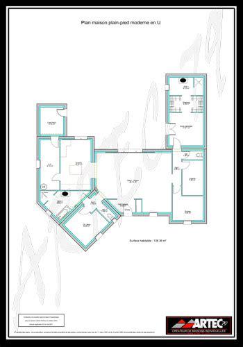 plan maison plain pied 100m2 3 chambres plans de maisons constructeur deux sèvres