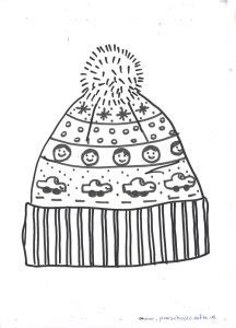 winter hat  mittens craft ideas  kids preschool