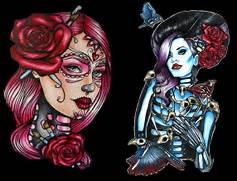 And Fashion Magic  Pin up girls and pin up tattoos     a short history  Traditional Pin Up Tattoos Designs
