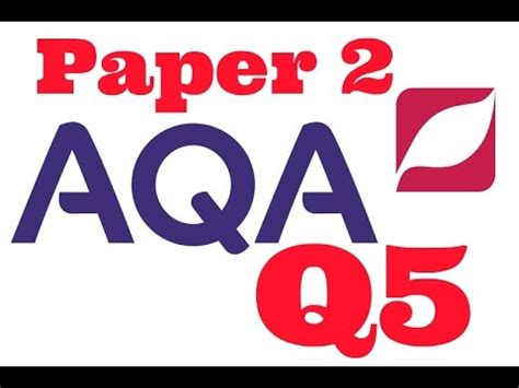 aqa paper  question  writing  persuade   youtube