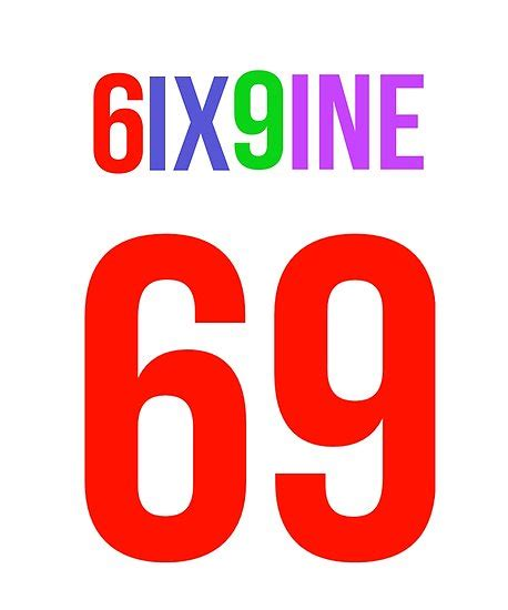 house with 4 bedrooms quot 6ix9ine aka six nine quot posters by prestige313 redbubble