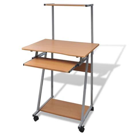 bureau pour informatique la boutique en ligne table de bureau brun pour ordinateur