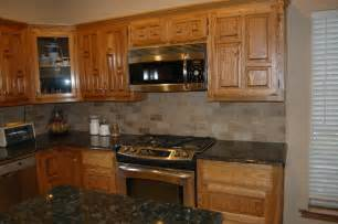 Kitchen Backsplashes With Granite Countertops Verde Butterfly