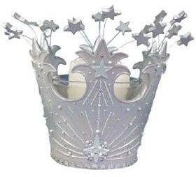 wizard  oz glindas crown votive candle set coronas
