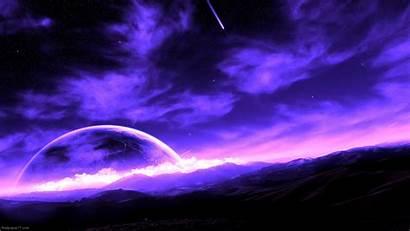 Purple Space Wallpapers Galaxy Desktop