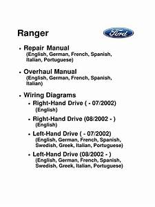 Ranger Repair Manual Pdf