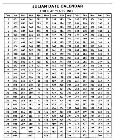 julian calendar  printable template calendar