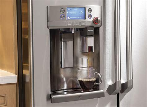 ge cafe refrigerator   keurig coffeemaker consumer