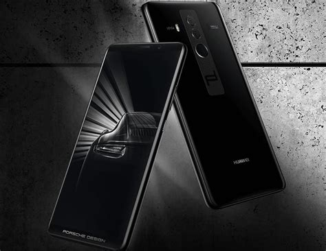 huawei mate 10 porsche design a smartphone that will make your luxury car jealous