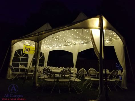 frame tent  backyard allcargos tent event rentals