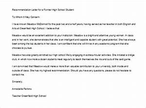how to write a self recommendation letter for college