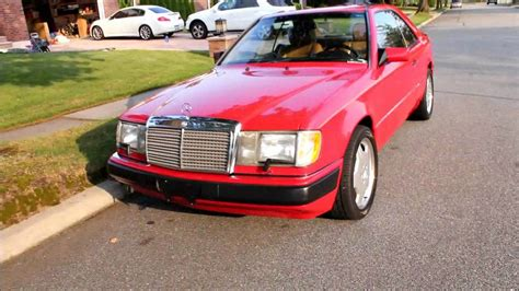 This car gets looks and drives like a sports car. 1991 Mercedes Benz 300CE - YouTube