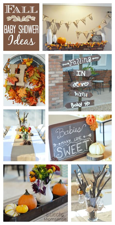 fall  love  baby shower eclectic momsense