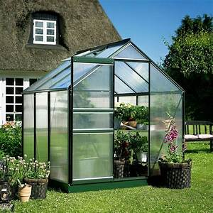 Serre De Jardin Polycarbonate : serre de jardin halls popular 3 80 m2 verte ~ Dailycaller-alerts.com Idées de Décoration