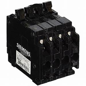 Siemens Q22020ct Triple Circuit Breaker  Plug 20