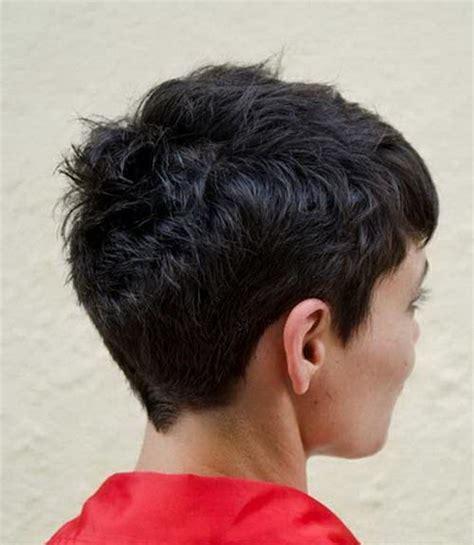 Short Haircuts Rear View