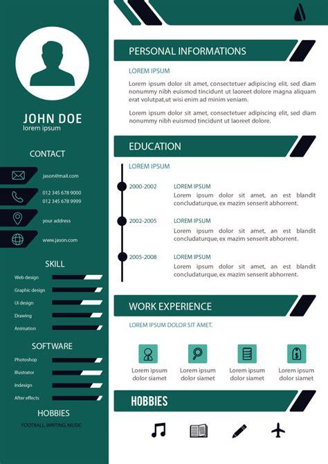 attractive cv design resume design  cover letter