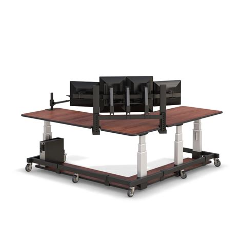 l shaped adjustable desk l shaped adjustable uplift sit stand up desk