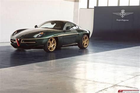 Green Alfa Romeo Disco Volante By Touring Superleggera