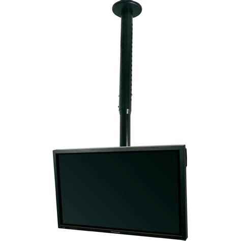 support tv pour plafond b tech bt8426 b 81 3 cm 32 quot 127 0 cm 50 quot inclinable noir sur le