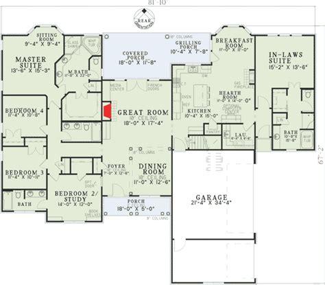 plan open living law suite house plans floor plans law suite