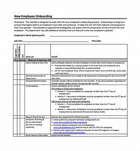 sample onboarding plan template 7 free documents in pdf With hr onboarding process template