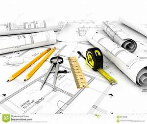 Plan De Construction : plan de construction avec l 39 chelle et le crayon photos ~ Premium-room.com Idées de Décoration