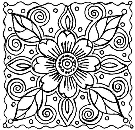 abstract coloring pages dr odd
