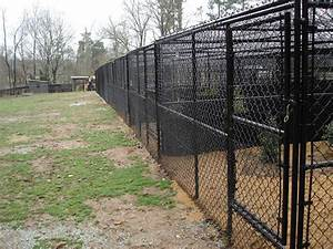 Dog kennel fencing charlotte nc allison fence company for Dog kennel cost