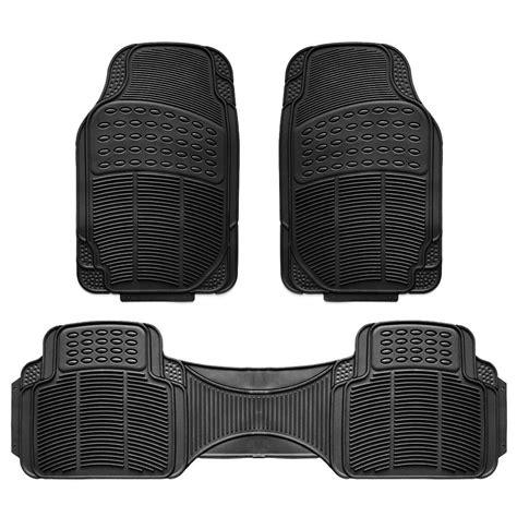 3pc Car Floor Mat Universal Set Carpet Mats Rugs Truck Suv