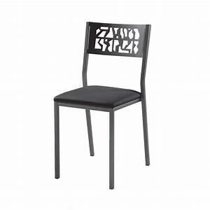 Chaise Style Industriel : chaise de cuisine moderne en m tal style industriel slide industrie 4 ~ Teatrodelosmanantiales.com Idées de Décoration